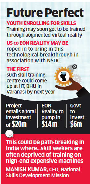 Skills training under Skill India mission may soon learn from augmented and virtual reality