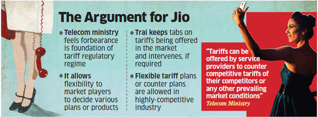 Clean chit for Reliance Jio's free voice offer