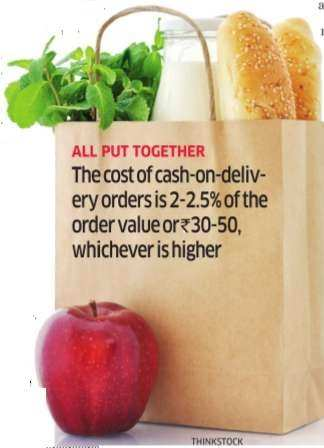 Online firms play corner store role, supply products of daily need