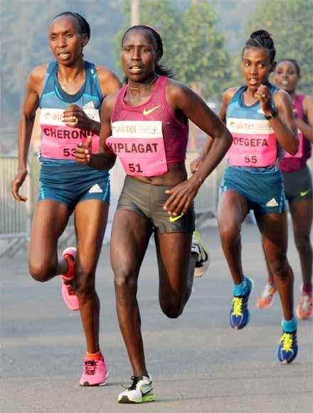 Airtel Delhi Half Marathon: Olympic medallist Kipchoge wins men's race, Ethiopia's Degefa clinches women's title