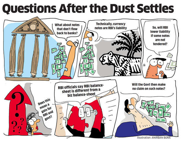 Will the government gain monetarily from lost black money?
