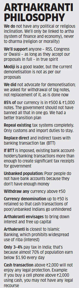 Banning notes will not curb black money, says think tank that called for demonetisation