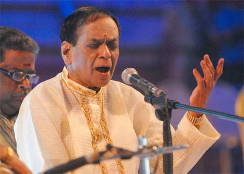 Carnatic singer & Padma Vibhushan winner Balamuralikrishna passes away at 86