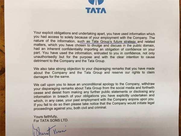 Tata Sons threatens to sue ex-GEC member Nirmalya Kumar for 'disparaging' remarks