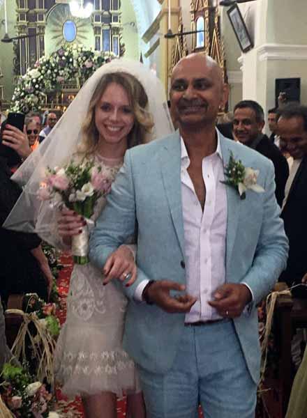A cheer-y affair at Sula Vineyards founder Rajeev Samant's wedding