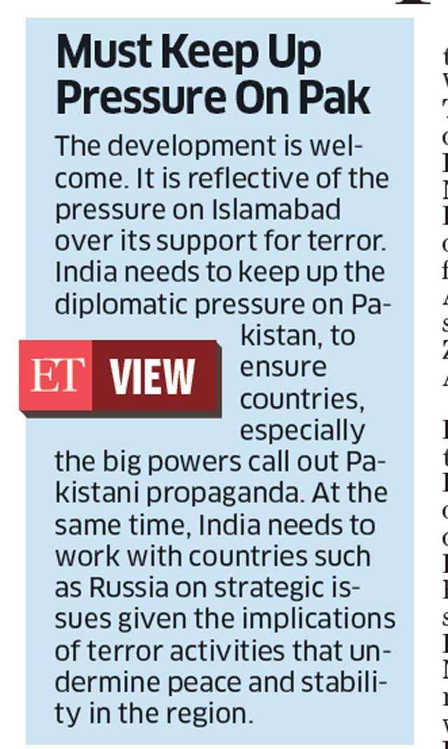 Russia dubs Pakistan report on CPEC as propaganda