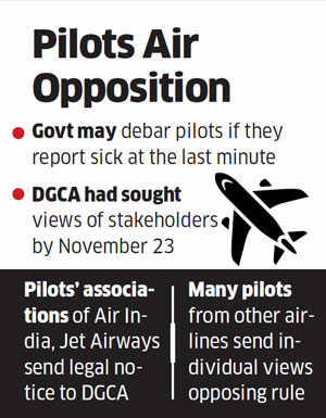 Pilots take on DGCA over 'Draconian' rule