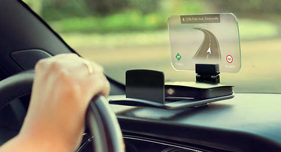 Not just BMW, Mercedes & Audi, Exploride's Heads-Up display is meant for all cars