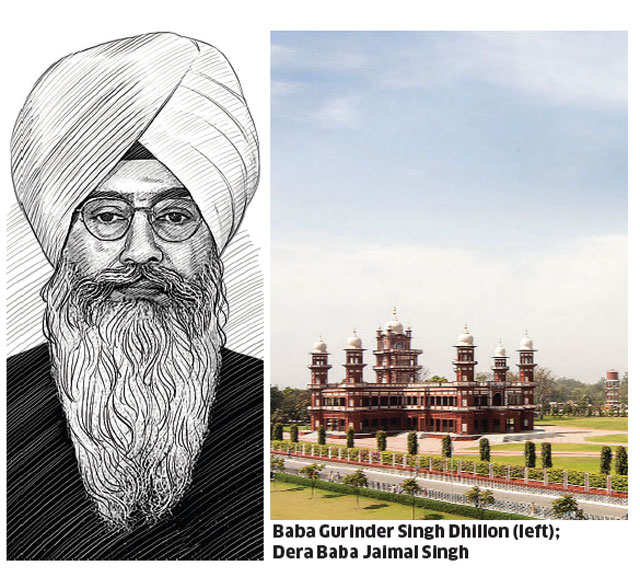 Dera chiefs play gurus to tallest of politicians