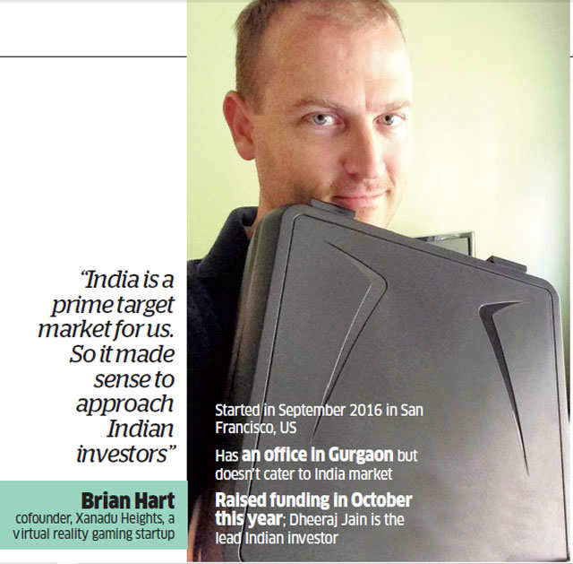 Startups with global operations attract funds from Indian