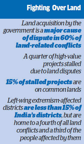 Land-related conflicts fester despite landmark legislation