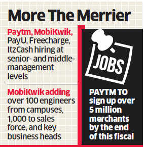Post-demonetisation, payment and financial technology scramble for talent