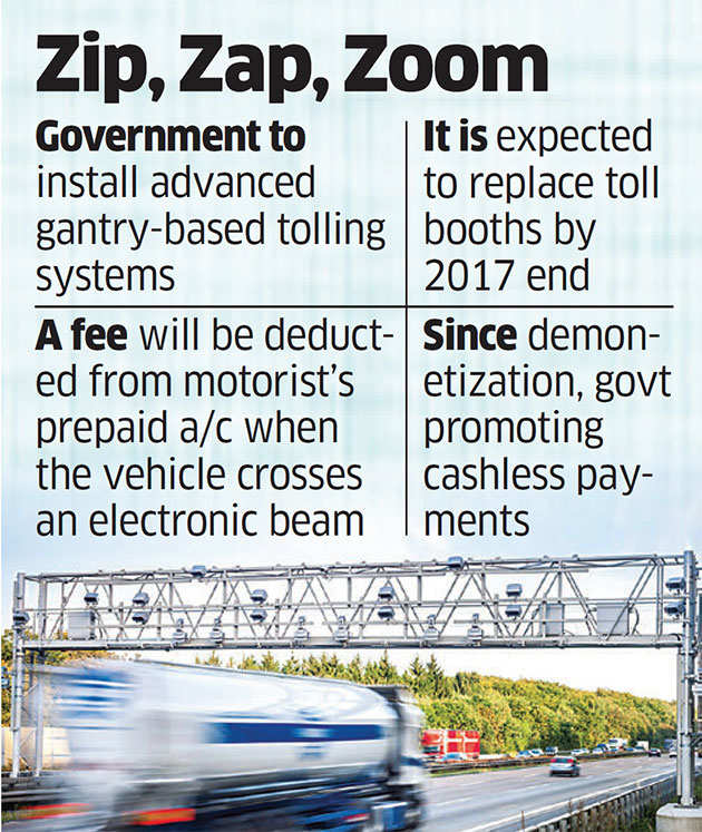 Eastern expressway on Delhi border to be first to adopt gantry-based tolling