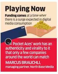 Digital entertainment startup Pocket Aces raises Rs 20 cr