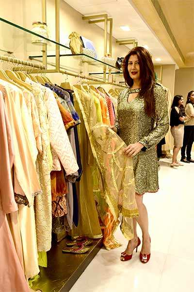 When Bollywood and Mumbai's fashionistas came together for a store launch
