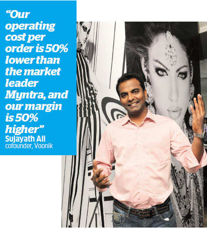 Investors are bullish on fashion etailers but only on those within striking distance of profits