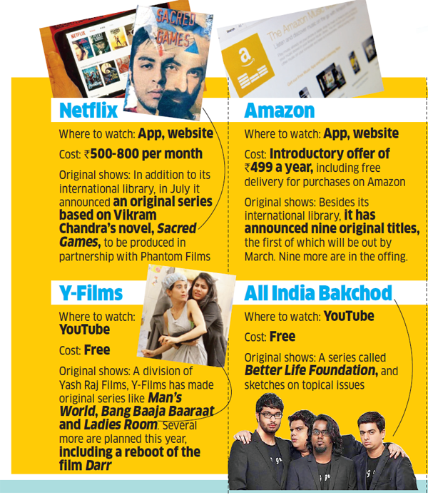 Netflix vs Amazon: The battle to attract viewers with