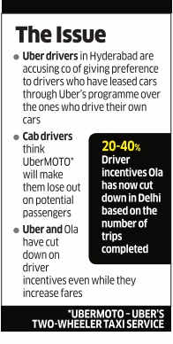 Uber, Ola drivers to protest low earnings, cuts in incentives - The