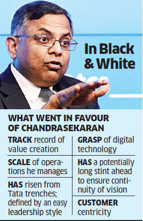 How digital warrior from within outran competition to be Tata Sons Chairman
