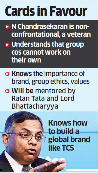N Chandrasekaran's attitude, experience to stand him in good stead