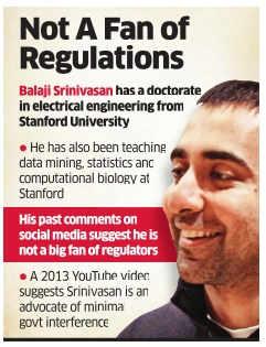 Balaji S Srinivasan may join Trump's team