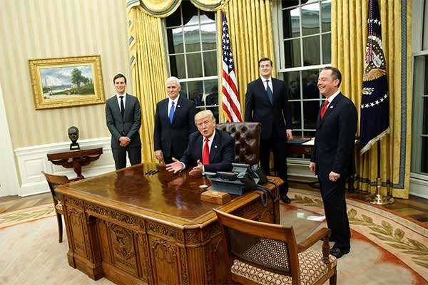 Trump Has Already Redecorated The Oval Office And This Is What It Looks Like Now