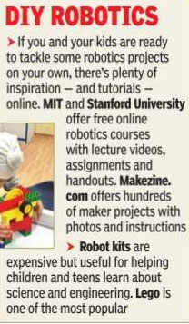 Techy Tots When Parents Started To Enroll Their Kids In Robotics