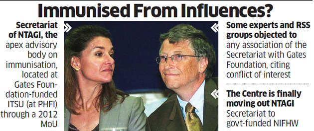 Centre shuts health mission gate on Bill & Melinda Gates Foundation