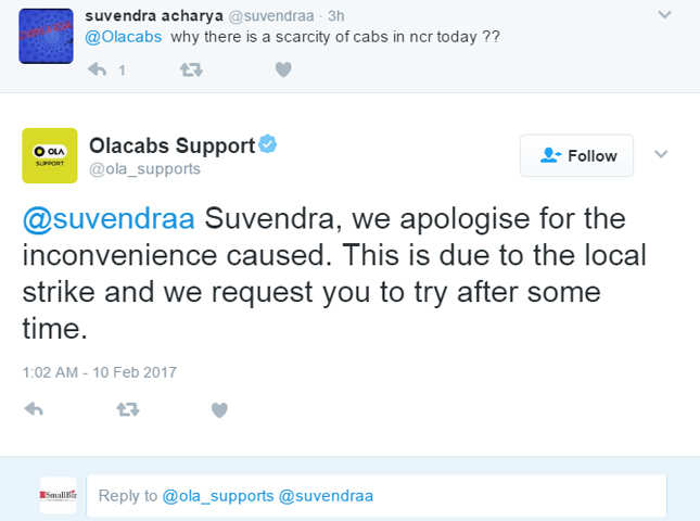 ola customer care number in delhi