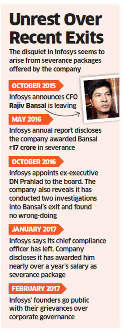 Infosys board open to continuing dialogue with promoters