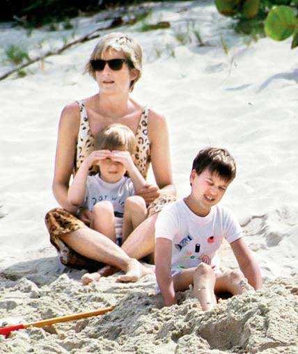 Necker Island Not Just Obamas Princess Diana Also