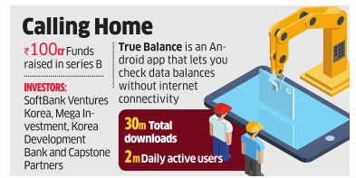 True Balance gets Rs 100 cr from SoftBank ventures Korea, others