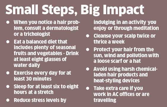 Is the pollution playing havoc with your hair? Here's what you can do
