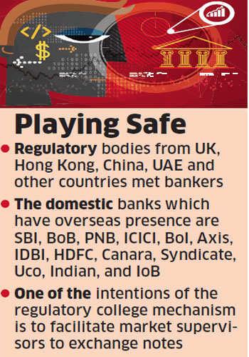 Foreign regulators check on health of Indian banks