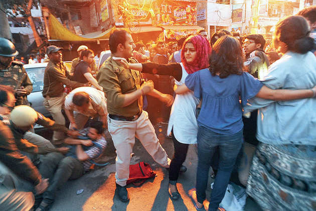 How Ramjas College that is no stranger to debate and dissent became ground zero for clashes