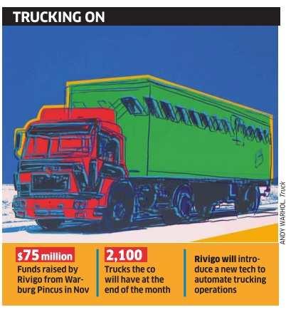 Logistics company Rivigo Services raises Rs 100 crore in debt - The