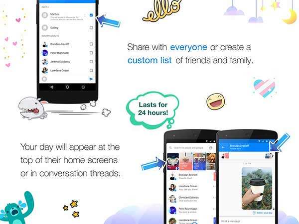 Facebook unveils new Snapchat clone, calls it Messenger Day