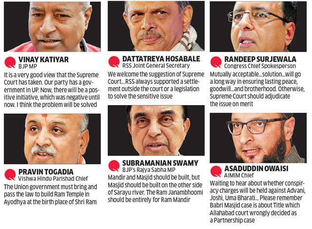 CJI Khehar offers mediator judge for Ayodhya dispute