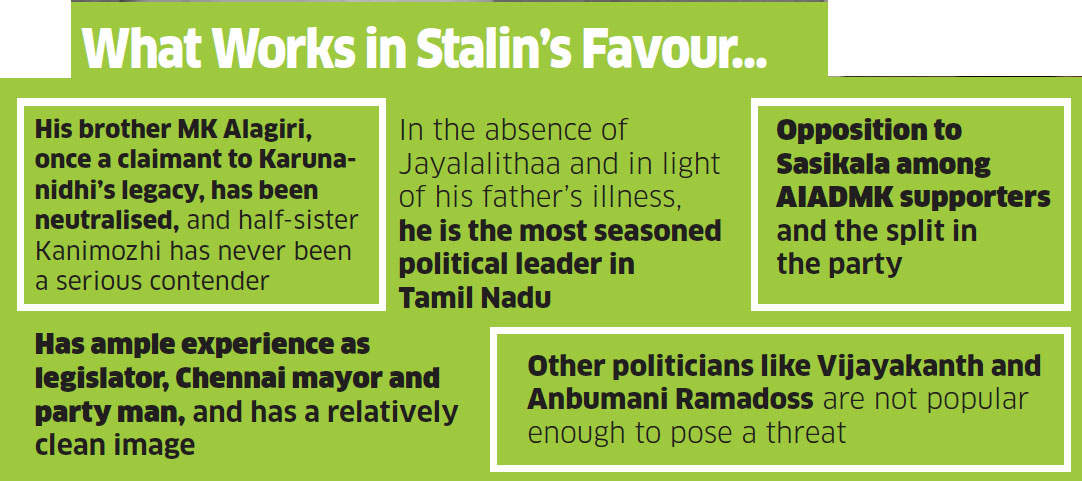 Can Stalin fill the void created in Tamil Nadu after Jayalalithaa's demise?