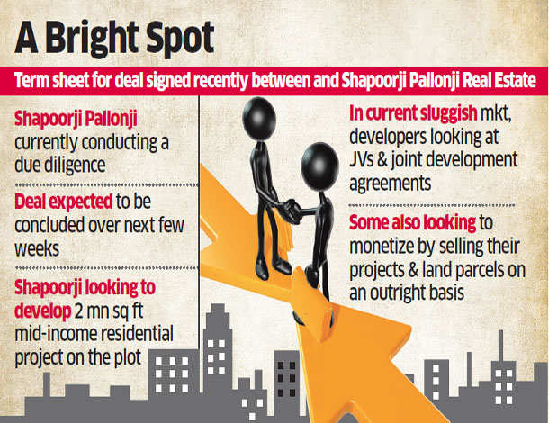 BPTP may sell 15 acres to Shapoorji for Rs 200 crore