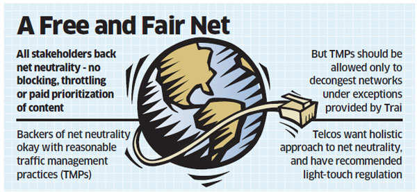 Net neutrality: Content providers, telcos want a free and fair regulation