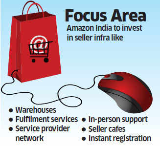 Amazon to double investment on seller infra in India
