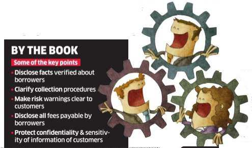 In the absence of RBI guidelines, a code of conduct for digital lending startups