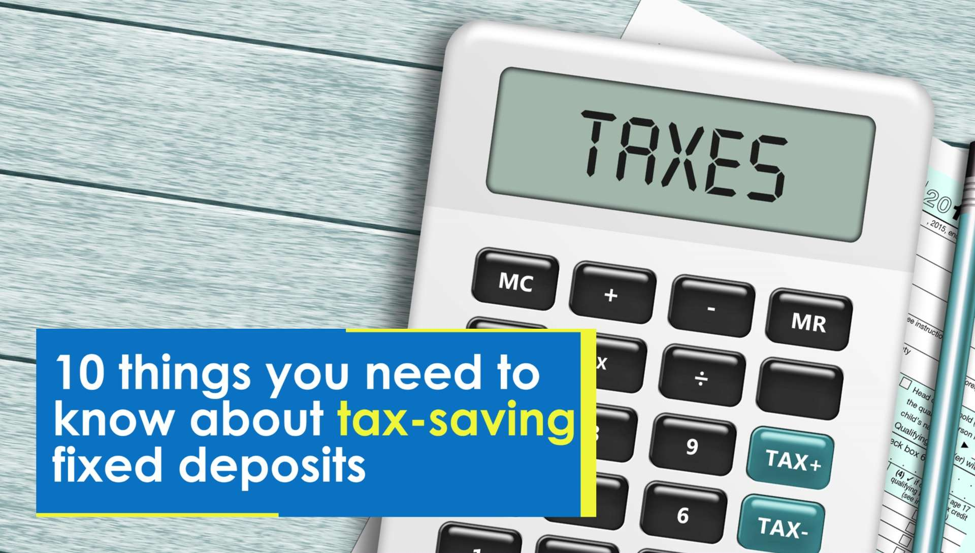 Image result for Tax Saving Fixed Deposits