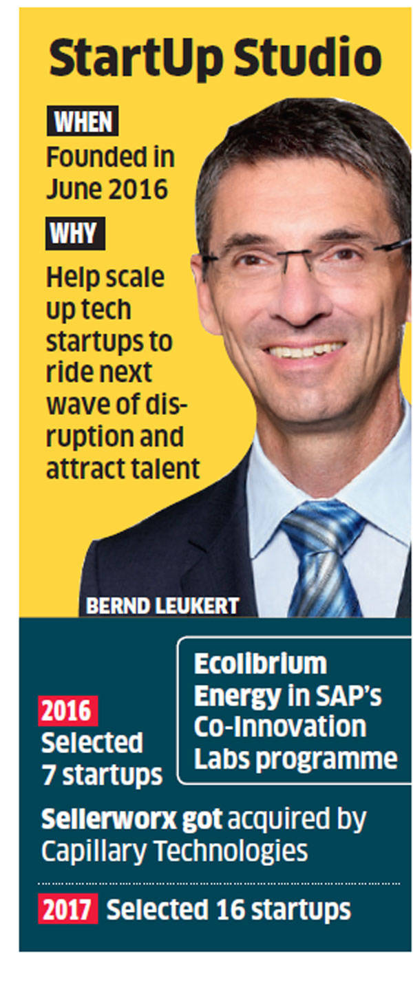 SAP banks on startups for tech disruption; more than doubles list for India