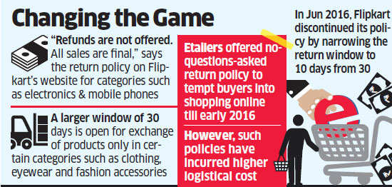 Flipkart: Flipkart tightens return policy, will now be choosy with
