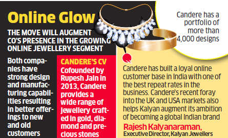 cd60d94ae682f online jewellery company: Kalyan Jewellers acquires online jewellery ...