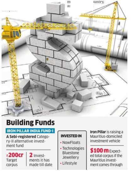 Tech-focused VC firm Iron Pillar makes first close of its maiden fund with Rs 129 crore