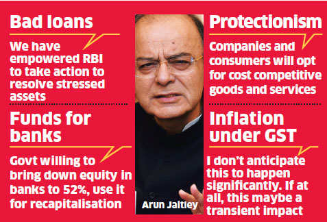 Government open to providing more funds for banks' recapitalisation: Arun Jaitley