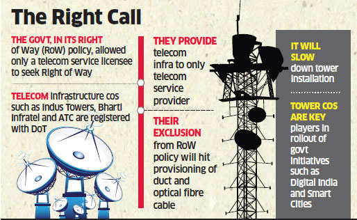 Trai asks Telecom Department to 'revisit' Right of Way rules